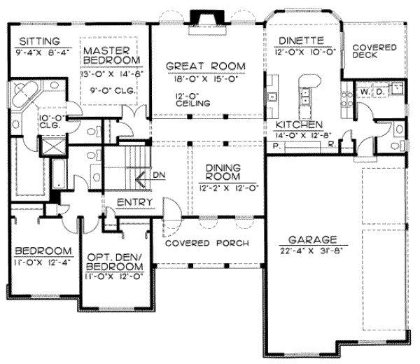 60 best house plans images on pinterest cottage floor plans house 24213 blueprint details floor plans malvernweather Choice Image