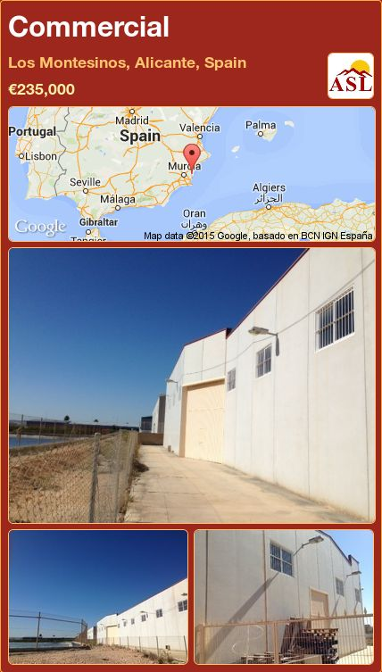 Commercial in Los Montesinos, Alicante, Spain ►€235,000 #PropertyForSaleInSpain