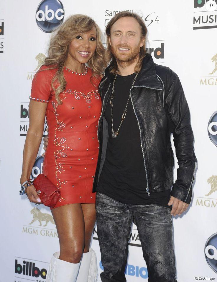 "David Guetta, Cathy Guetta - Soirée ""2013 Billboard Music Awards"" au ""MGM Grand Garden Arena"" à Las Vegas, le 19 mai 2013."