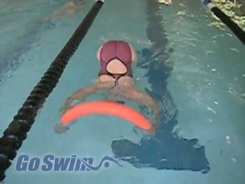 Swimming - Turns - Freestyle Flip Turn Step #1: If you've always wanted to learn how to do a flip turn (and what swimmer doesn't?), here's a fun drill that is step #1 in the learning process.