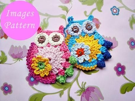 Estelle Owl Crochet Pattern. Chrysti you know I love this! :)