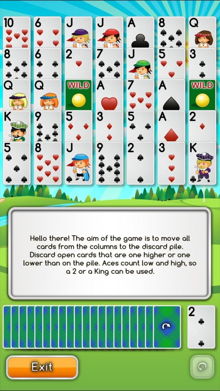 Learn How to Play Golf Solitaire Pro! Video in 2020 ...