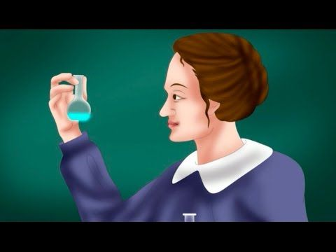 Marie Curie biography video for kids