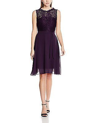 46 ( XXL/46), Purple (lila 022), Intimuse Women's Sigi Dress NEW