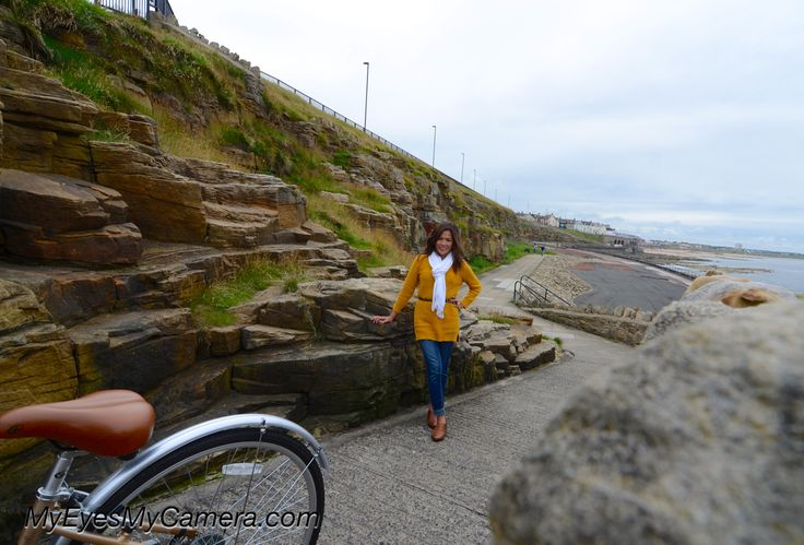Had finally got a chance to get a pics of myself here at the beautiful clifs and rocks Cullercoats