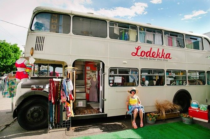 Double Decker!! Must find!!  Top 10 Fashion Trucks Coast to Coast