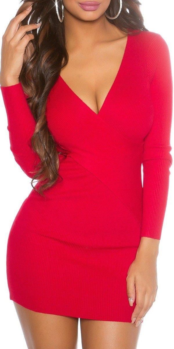 Dámské svetrové šaty Nicola