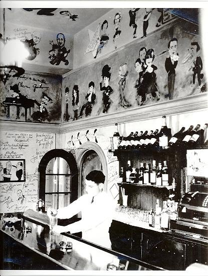 Inside the Ambassador Hotel's Field & Turf Club, a private room adjacent to the Cocoanut Grove. Photo is circa early to mid 1930s. Supposedly, William Powell was a regular.