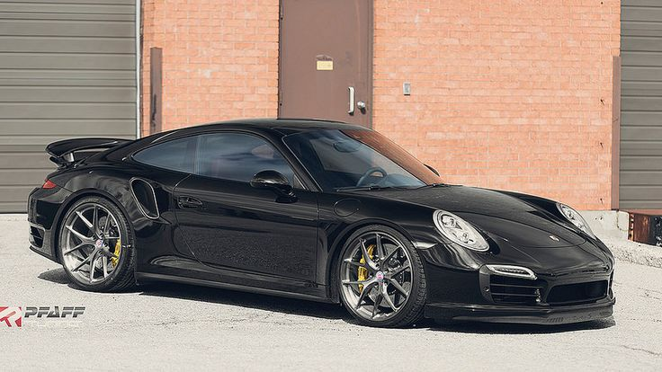 Porsche 991 Turbo S with HRE P101 in Brushed Dark Clear by Pfaff Tuning (3)