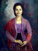Basoeki Abdullah - Lady with Kebaya