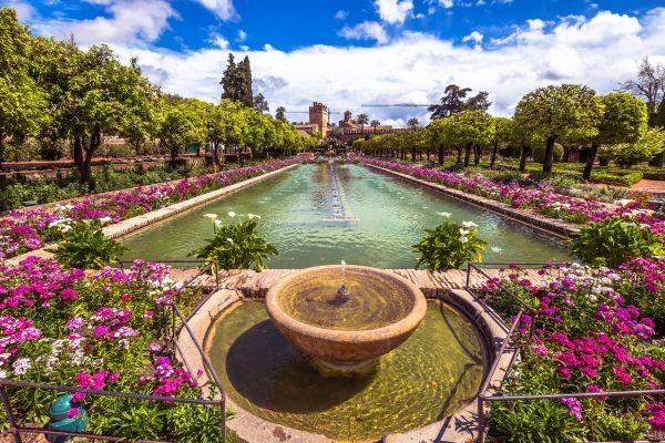 Les Jardins De L Alcazar De Los Reyes Cristianos Cordoue