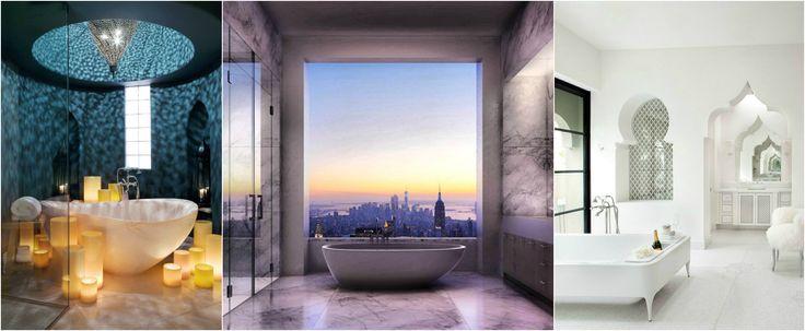 Banheiros de Sonhos para Mergulhar em Fantasias Relaxantes | Ideias Designer de Interior