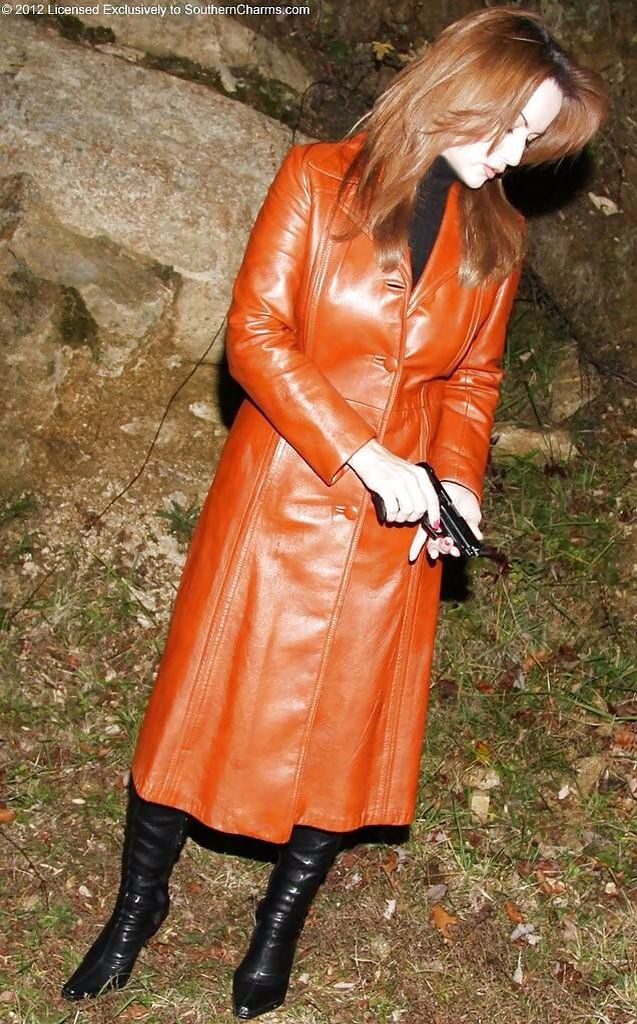 Stunning Leather Trench Coat Outfit Ideas For My Wife