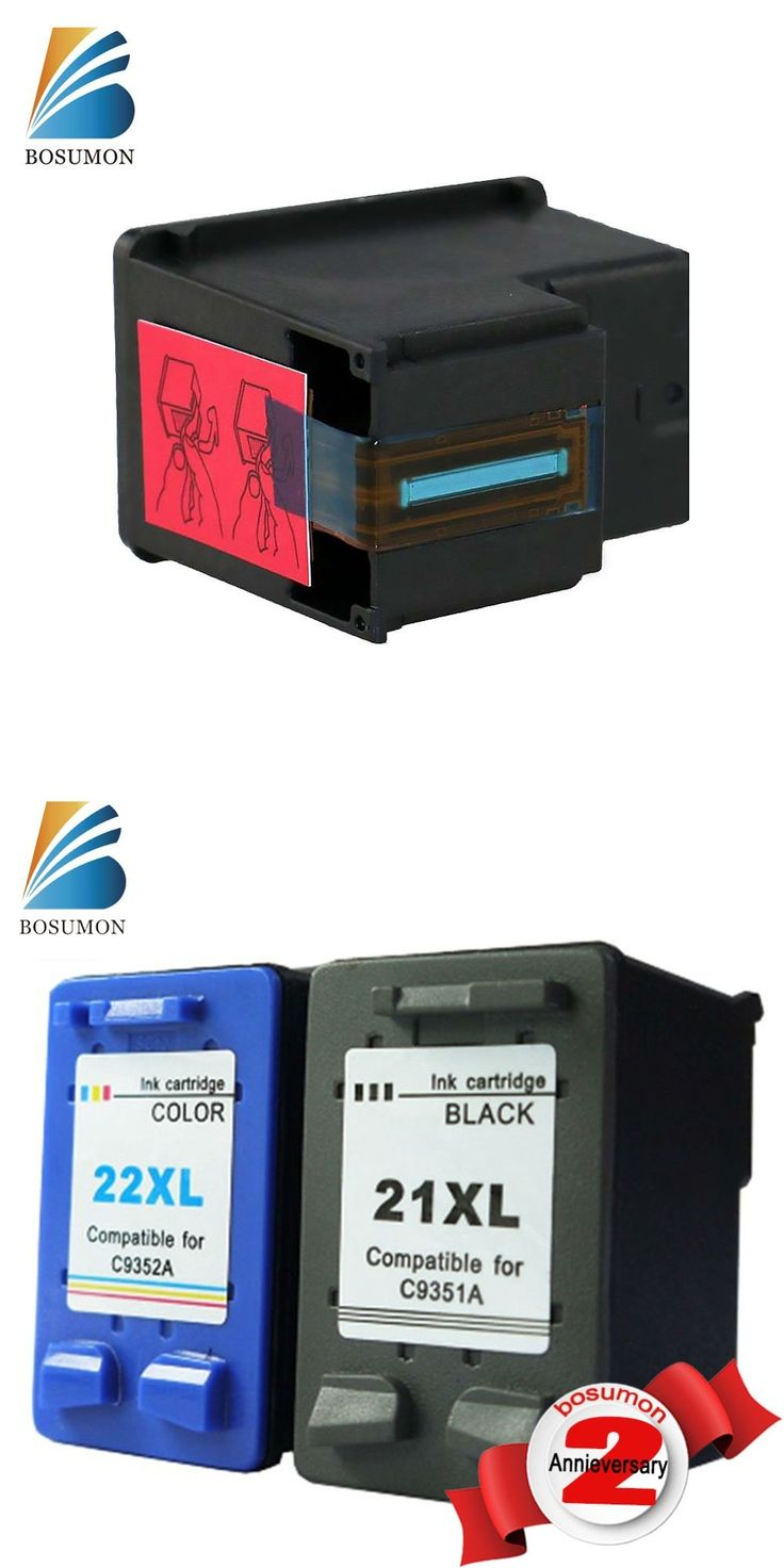 BOSUMON Compatible Ink Cartridge For HP cartridges 21 and 22 Cartridges for HP printer 3915 D1530 D1320 F2100 F2280 F4100 F4180