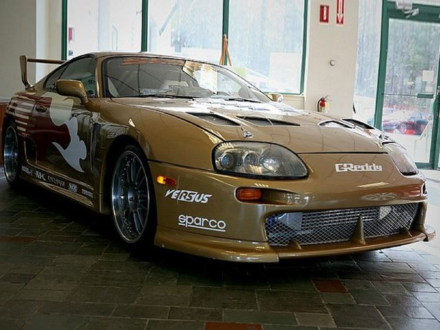 The Fast And The Furious Supra Up For Sale