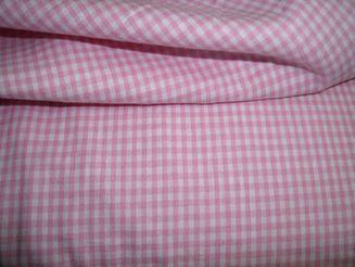 (09) Boerenbont mini ruitje roze 0.2