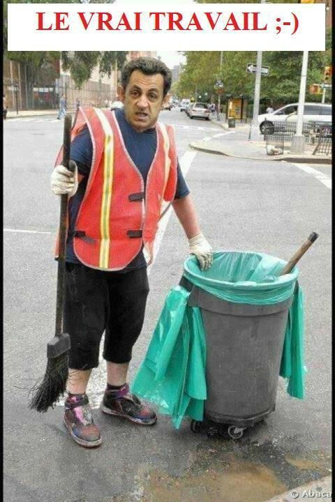 À Paris, une poubelle est considérée comme une arme mortelle par les autorités locales. Les éboueurs sont des sortes de démineurs ambulants, en fait. Gloire à eux.