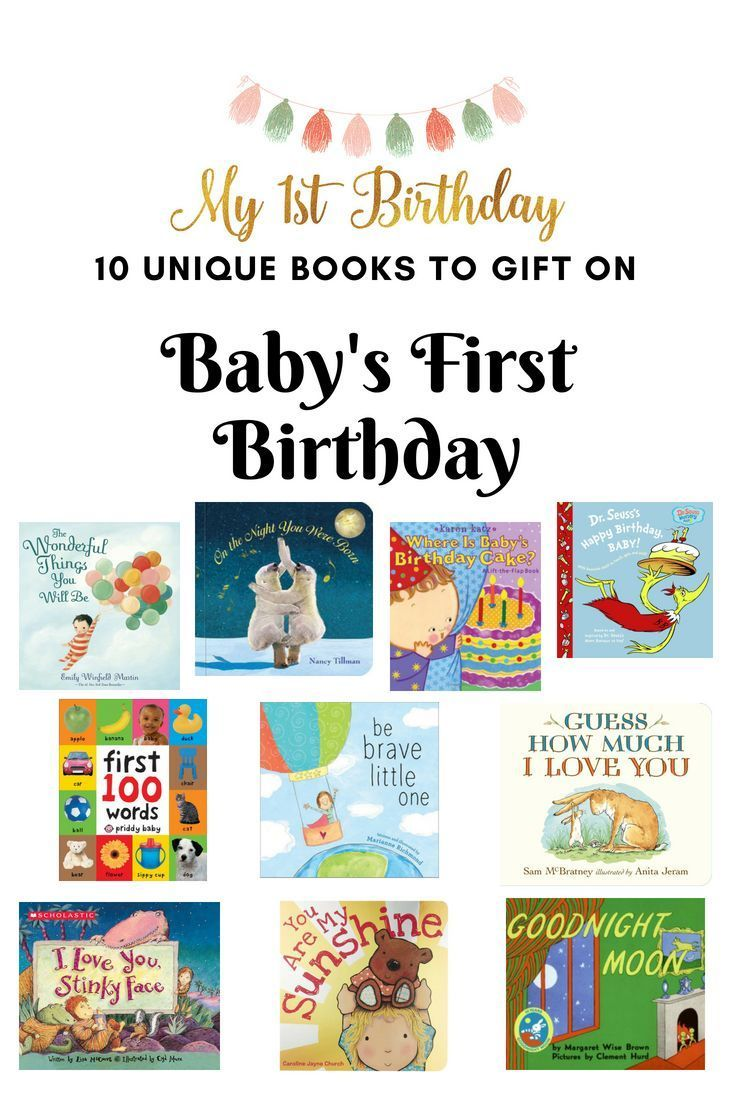 Looking For A First Birthday Gift Check Out These Top 10 Recommended Books That Make Perfect 1st Party