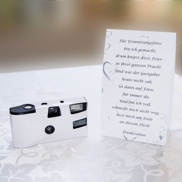 Place Card For Disposable Camera White Diy Decoration Wedding Source Link Camera Card Decoration D In 2020 Einwegkamera Hochzeit Hochzeit Tischkarten Hochzeit