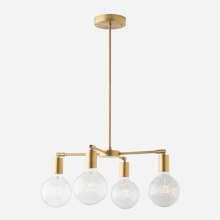 A Member Of Our Odyssey Family This Bare Bulb Chandelier Lends An Unassuming Elegance To