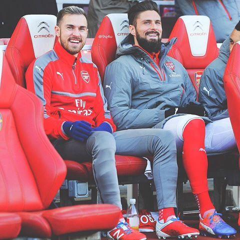 #Aaronramsey #Olivergiroud #Arsenal #Afc #Coyg