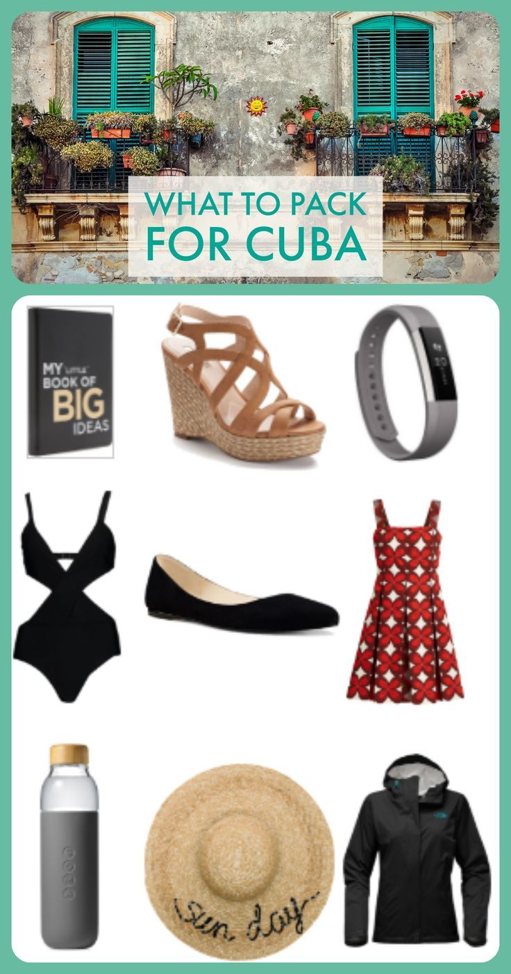 The ultimate Cuba packing list not to be forgetton on your travels!