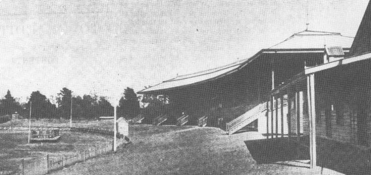 The Gardiner Stand, circa 1913.