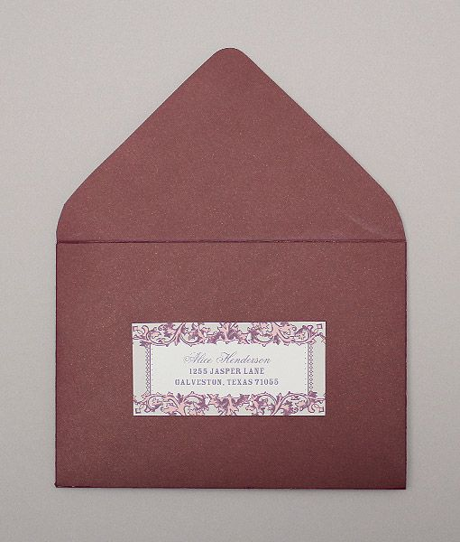 vintage filigree address labels diy paper inspiration pinterest