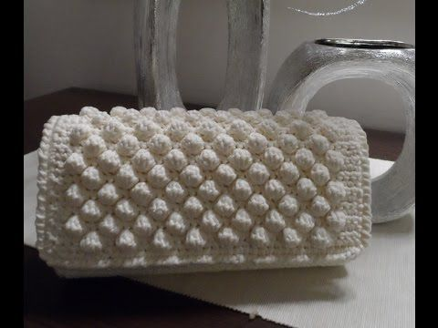 "Tutorial facile | Pochette ""Nocciolina"" crochet 
