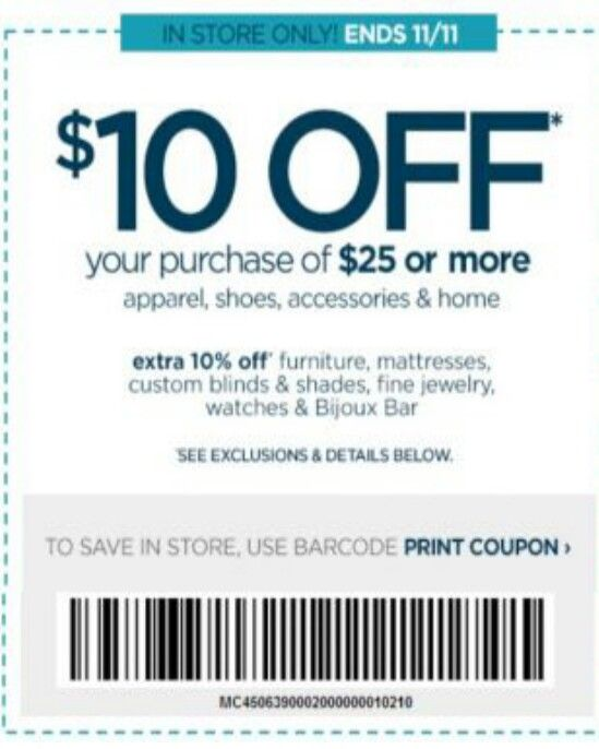 JC Penney Haircut Coupon