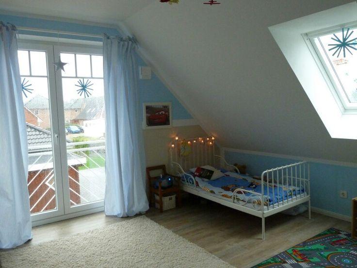 Kinderzimmer hellblaue Vorhänge von Topotec – Zimmerschau.de
