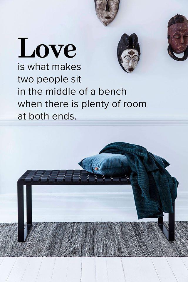 #quote #bench #benthansen #plaitedbench #love #citat