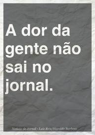 Notícia de Jornal - Chico Buarque