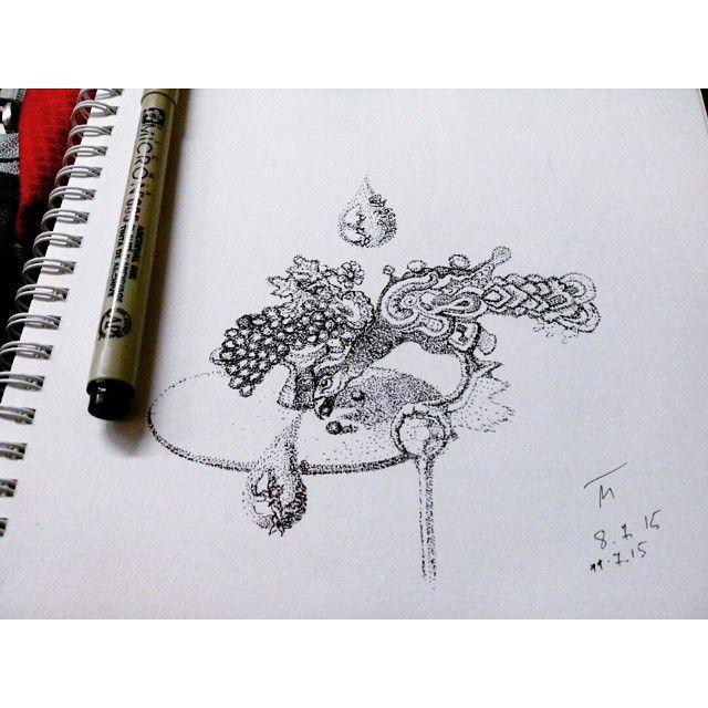 Новые #детали на #Метроскетч с птицей и виноградом. Там будет #стол. Кажись :))) Made with @nocrop_rc #rcnocrop