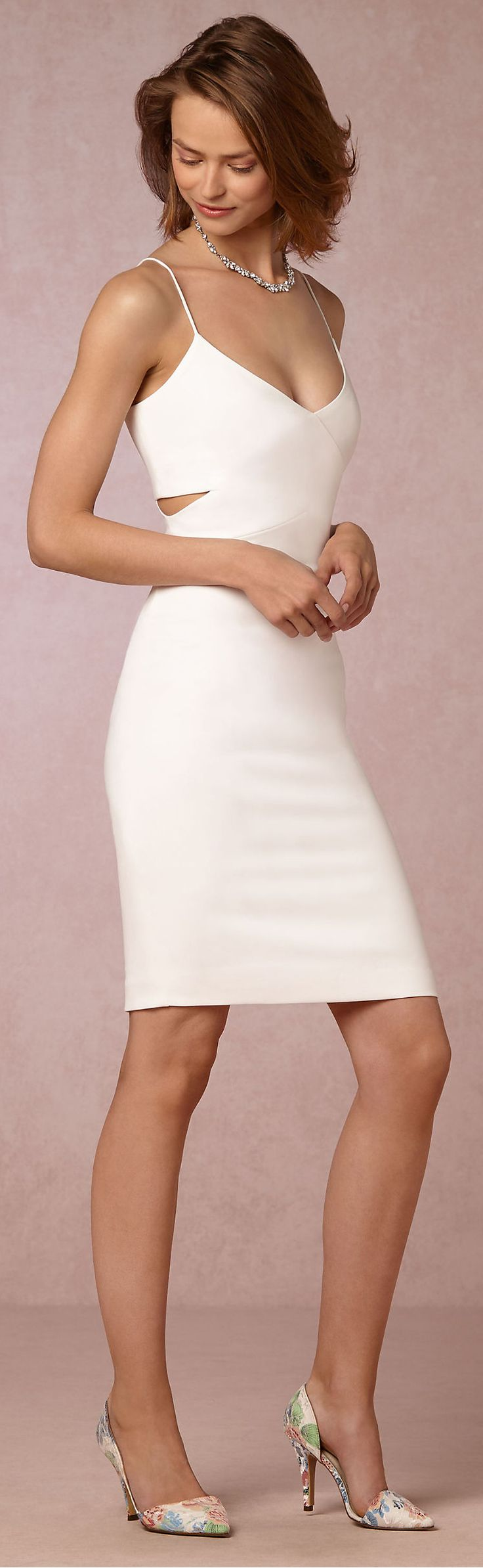 25  best ideas about White cocktail dresses on Pinterest | Elegant ...