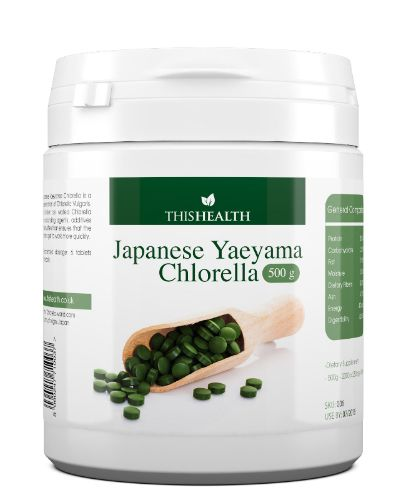 Yeayama Chlorella 500g. Large tub of the finest chlorella on the market. 4000 x 250mg tablets. Premium Product. Broken Cell Wall, easy to digest.