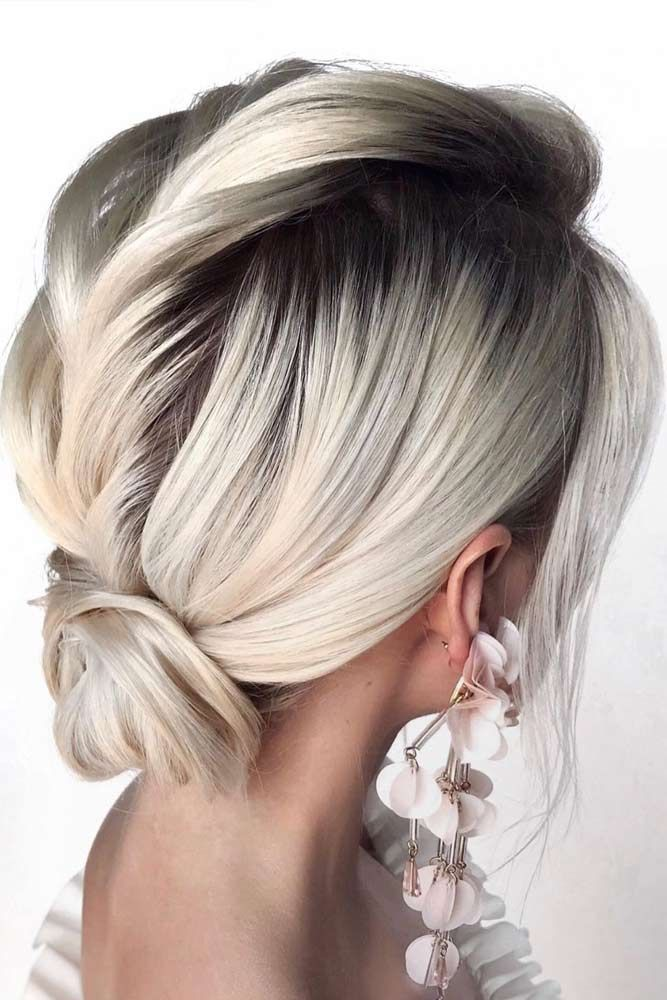 35 Easy And Fancy Ideas Of Wearing Hair Bun For Short Hair Short Hair Bun Short Hair Styles Bun Hairstyles