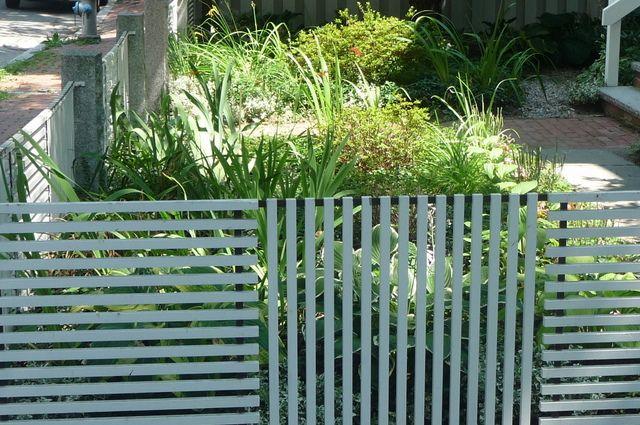 Fayette Street Fence, Cambridge, MA
