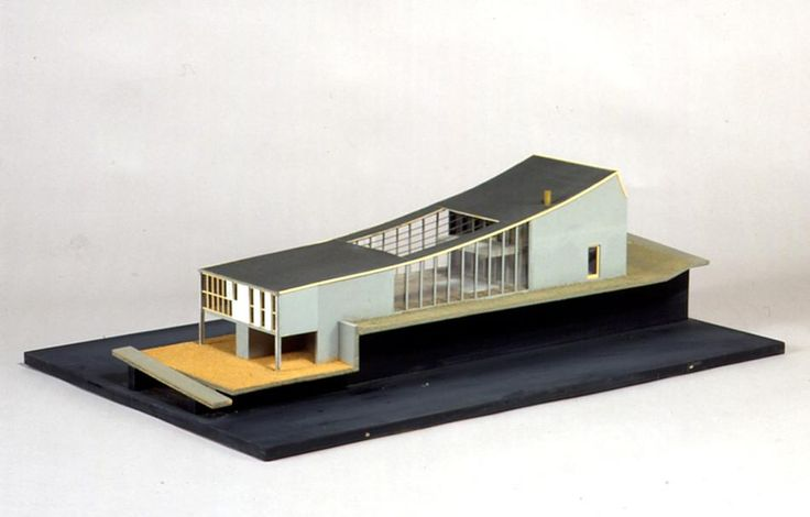 Architectural model boyd house ii south yarra 1957 for Outer space design melbourne
