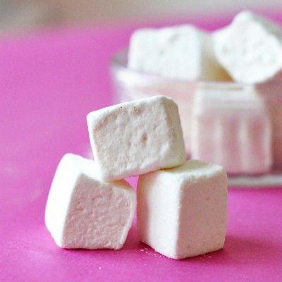 Klasyczne waniliowe pianki marshmallows