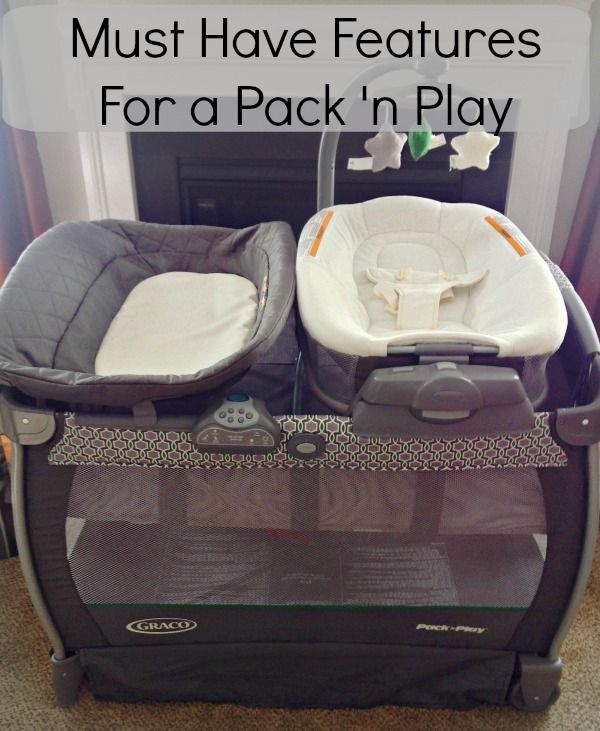Must Have Features for a Pack 'n Play. Graco Nearby Napper has it all! #AtHomeWithGraco #Ad