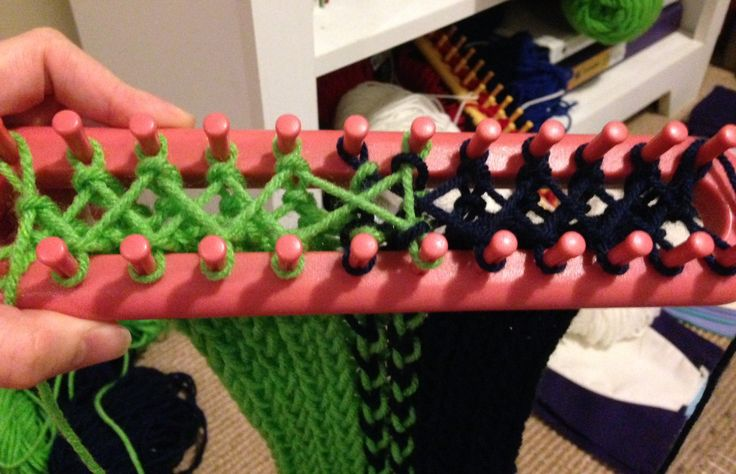 Loom knitting | Gorram Quilts