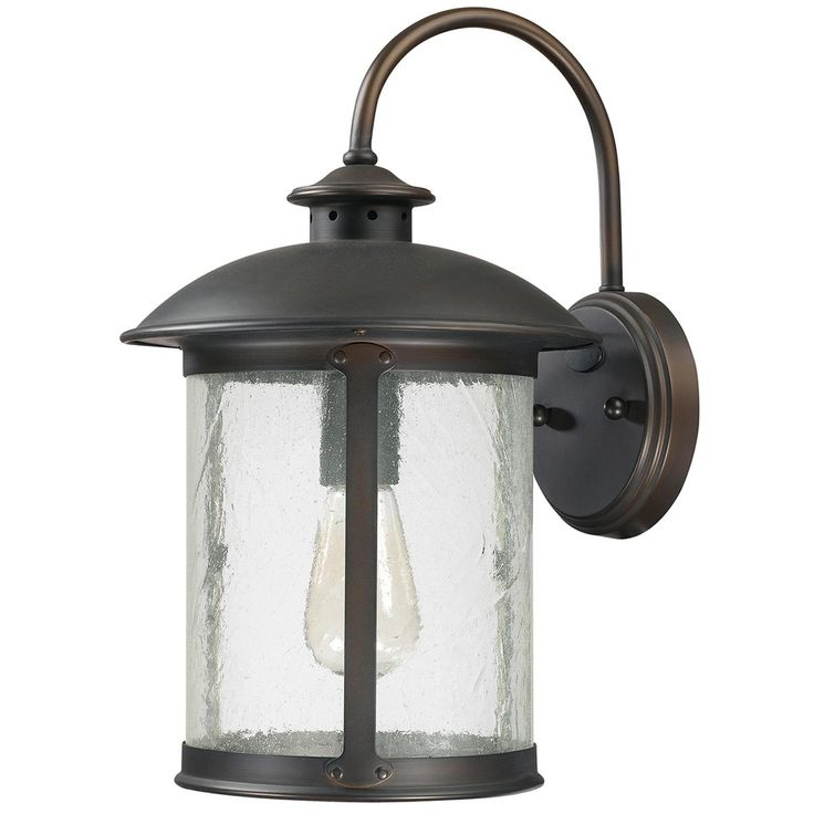 Prairie Outdoor Sconce- outside pool porch