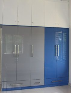 Wardrobes are designed with a lot of thought so as to accommodate and organize all your belongings.  ‎#WardrobesBangalore  http://modular-kitchens.com/wardrobes.html