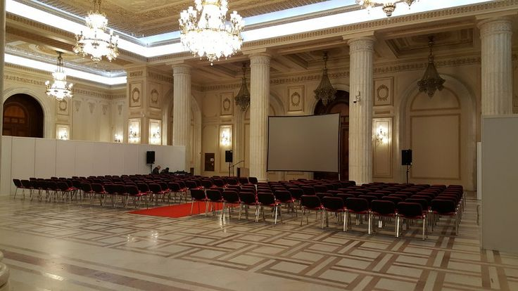 Gruppo Editoriale Collins - Buyer Point International 2016 - Bucarest - Palazzo del Parlamento