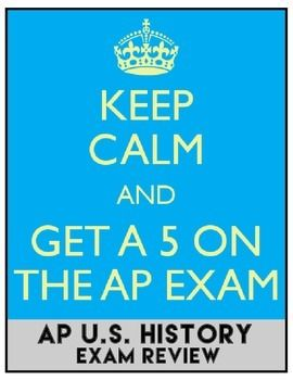 AP US HISTORY EXAM REVIEW. Everything you need to prep for AP US History, American History exams. Enjoy this complete study guide and practice tests.