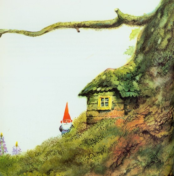 gnome and homeModern Gardens, Gnomes House, Wee Folk, Tiny House, Polar Bears, Gnomes Home, Gnomes Gardens, Gardens Design, Interiors Gardens