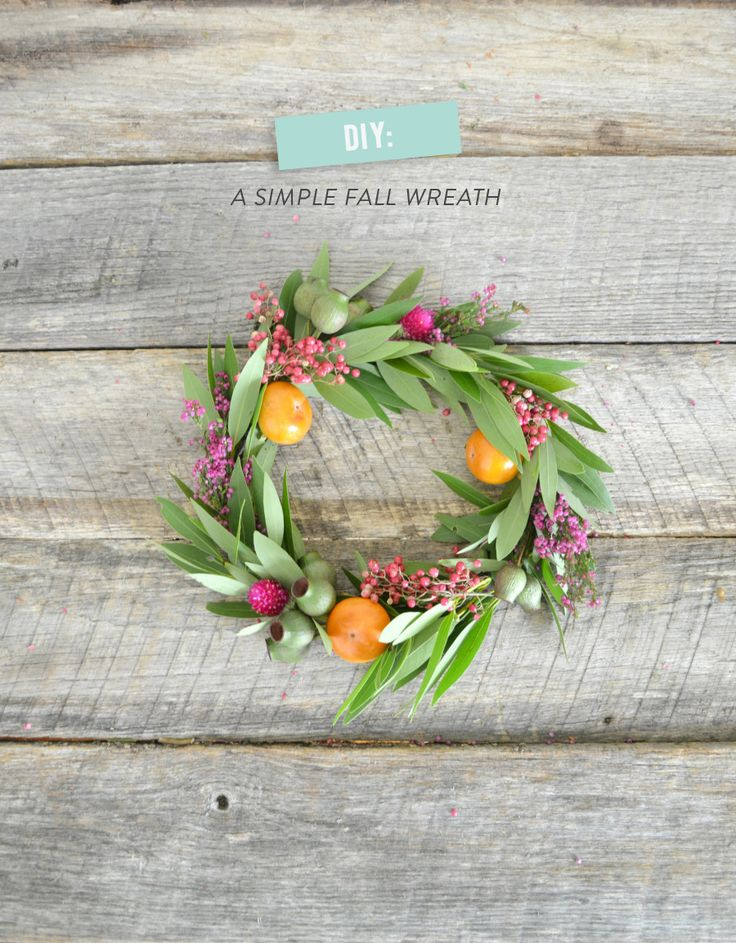 #Fall #Wreaths #DIY on SMP Living | WildFolkStudio.com