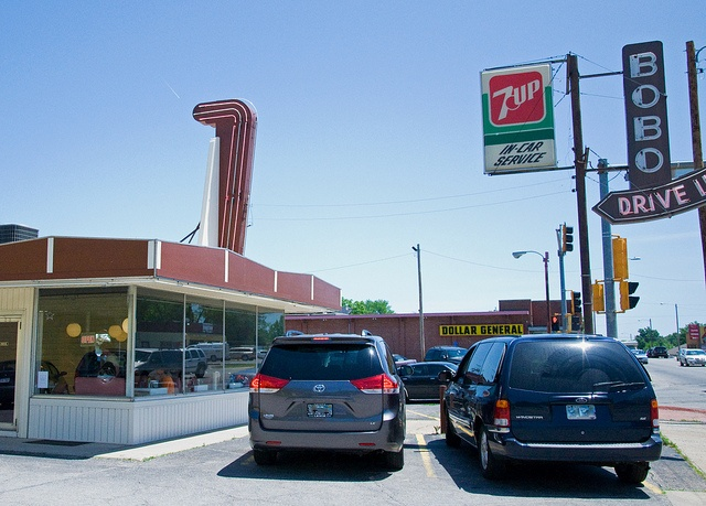 Bobo's Drive In ~ Topeka, Kansas by Diners, Drive Ins and Dives.