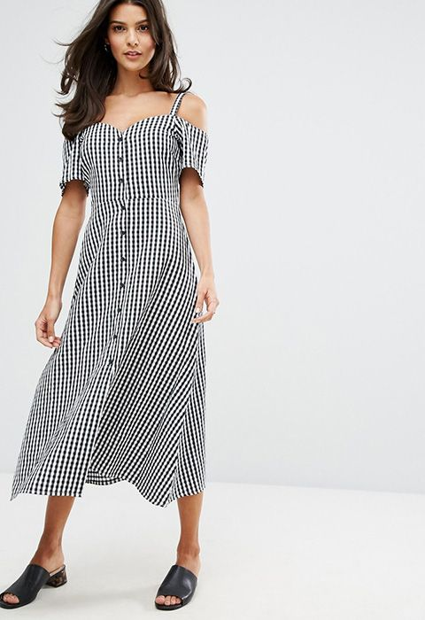 If you're loving spring's gingham trend, then this Warehouse dress is going to blow your mind